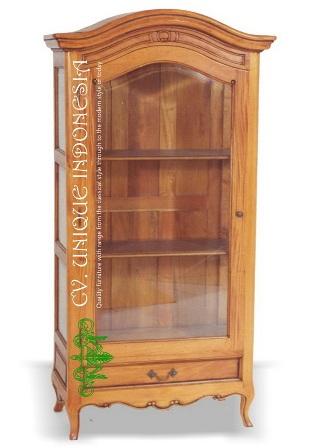 French Provincial Display Cabinet Furniture Manufacturer